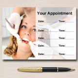 Orthodontist Dentist Surgery Practice Dental Personalised Appointment Cards