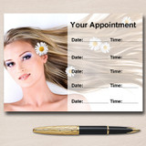 Salon Hair Beauty Spa Massage Nails Personalised Appointment Cards