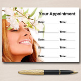 Spa Treatment Beauty Hair Nails Massage Personalised Appointment Cards