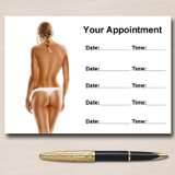 Spray Tan Sunbeds Personalised Appointment Cards