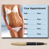 Tanning Sunbed Spray Tan Beauty Personalised Appointment Cards
