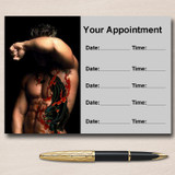 Tattoo And Piercings Personalised Appointment Cards