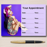 Tattoo Body Art Tattooist And Piercings Personalised Appointment Cards