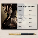 Tattoo Studio Tattooist Artist Personalised Appointment Cards