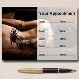 Tattooist Tattoo Artist Studio Piercing Personalised Appointment Cards