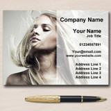 Hair Mobile Hairdresser Salon Personalised Business Cards