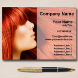 Hair Salon Hairdresser Personalised Business Cards