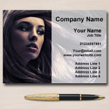 Hair Salon Mobile Hairdresser Personalised Business Cards