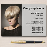 Hair Stylist Salon Hairdresser Personalised Business Cards