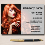 Hairdresser Hair Or Nail Salon Personalised Business Cards