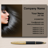 Beauty Salon Hair Hairdresser Personalised Business Cards