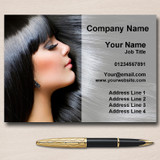 Mobile Hairdresser Hair Salon Beauty Personalised Business Cards