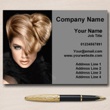 Mobile Hairdresser Hair Salon Personalised Business Cards