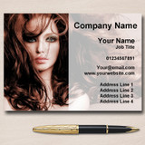 Mobile Hairdresser Or Hair Salon Personalised Business Cards