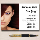 Mobile Hairdresser Salon Hair Nails Beauty Personalised Business Cards