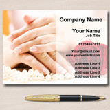 Nail Beauty Salon Hair Personalised Business Cards