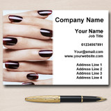 Nail Technician Salon Manicure Pedicure Personalised Business Cards