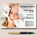 Orthodontist Dentist Surgery Practice Dental Personalised Business Cards