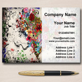 Piercing And Tattoo Personalised Business Cards