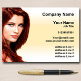 Salon Hair Hairdresser Personalised Business Cards