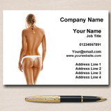 Spray Tan Sunbeds Personalised Business Cards