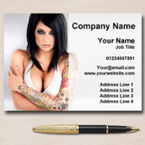 Tattoo Body Art Tattooist Piercings Personalised Business Cards