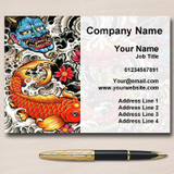 Tattoo Studio Artist Tattooist Personalised Business Cards