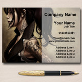 Tattoo Studio Tattooist Artist Personalised Business Cards