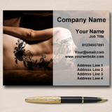 Tattooist Tattoo Artist Studio Piercing Personalised Business Cards