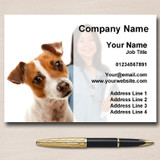 Vet Veterinary Dog Personalised Business Cards