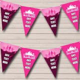 Fortnite Girls Pink Birthday Party Bunting Banner Garland Flags