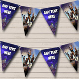 Fortnite Game Birthday Party Bunting Banner Garland Flags