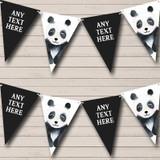 Watercolour Animal Panda Children's Party Bunting