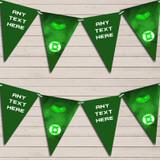 Superhero Green Lantern Children's Birthday Bunting Garland Party Banner
