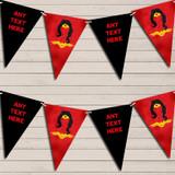 Superhero Wonder Woman Children's Birthday Bunting Garland Party Banner