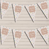 Christening Baptism Communion Cross Colourful Christening Bunting