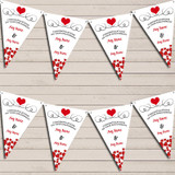 Hearts Party Decoration Engaged Engagement Bunting Garland Party Banner