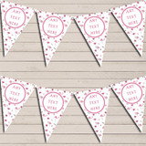 Pretty Pink Flamingo Hen Do Party Bunting