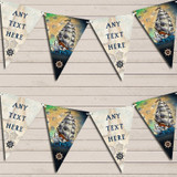Nautical Vintage Pirate Ship Sea Party Bunting