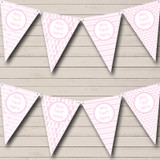 Pink Bows And Stork Girl Pretty Welcome Home New Baby Bunting