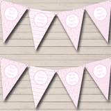 Pink Balloons Chevrons Girl Pretty Welcome Home New Baby Bunting
