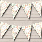 Neutral Pram Bows Welcome Home New Baby Bunting