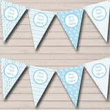 Grow Blue Stars Chevrons Welcome Home New Baby Bunting