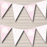 Girl Pink Stripes Chain Welcome Home New Baby Bunting