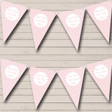 Girl Pink Squares And Stripes Welcome Home New Baby Bunting