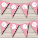 Girl Pink Love Hearts Welcome Home New Baby Bunting