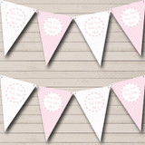 Girl Pink Flowers & Check Welcome Home New Baby Bunting
