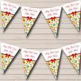 Bright Summer Shabby Chic Welcome Home New Baby Bunting