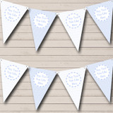 Boy Blue Stripes Diamonds Welcome Home New Baby Bunting