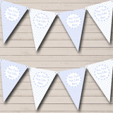 Boy Blue Check Spots Welcome Home New Baby Bunting